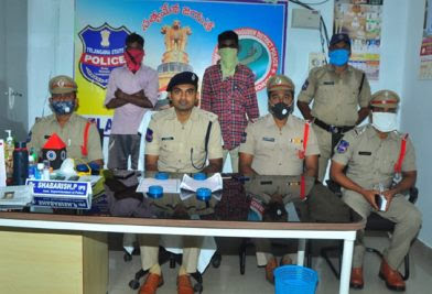 Two Maoist sympathisers held in Kothagudem