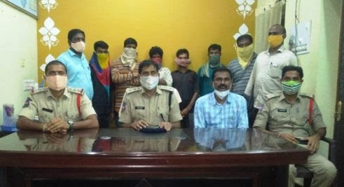 Police arrest five Gotti Koyas for supporting Maoists in Bhupalpally district